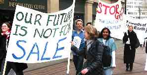 Nottm GATS demo, March 2003