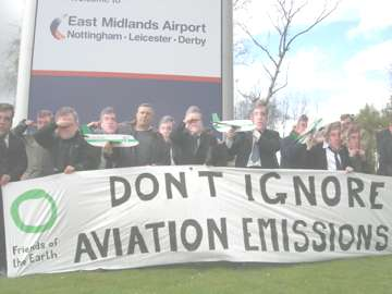 LINK TO aviation & climate change campaign