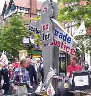 Nottm Trade Justice demo, June 2003