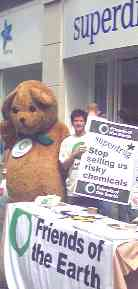 Toxic Ted on Listergate, 23 Aug 2003 - link to Toxic Ted at Green festival